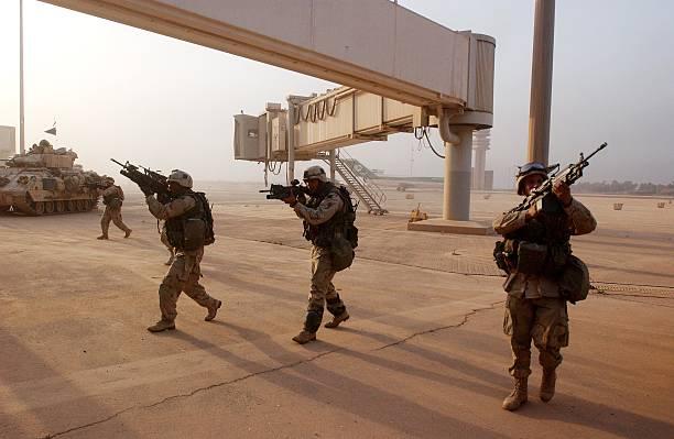 Coalition Forces Advance Into Baghdad:ニュース(壁紙.com)