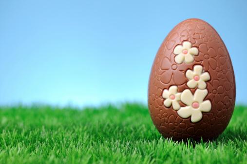 イースター「チョコレートイースター卵」:スマホ壁紙(2)