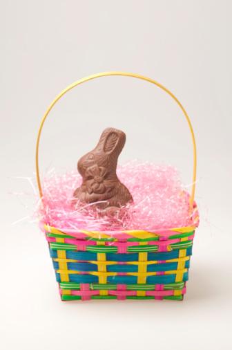 Easter Basket「Chocolate Easter bunny in basket」:スマホ壁紙(12)