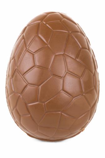 イースター「チョコレートエッグ立つ」:スマホ壁紙(1)