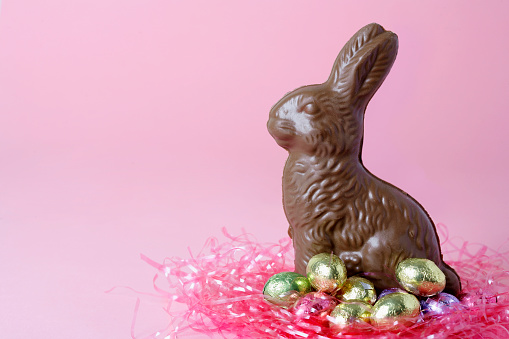 Easter Bunny「Chocolate Easter Bunny and Candy Eggs」:スマホ壁紙(8)