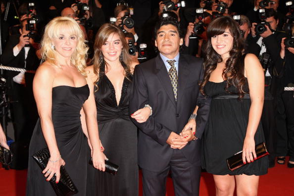 Daughter「Cannes 2008: 'Maradona' - Premiere」:写真・画像(8)[壁紙.com]