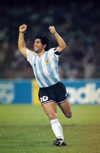 Celebration「Diego Maradona Argentina 1990 FIFA World Cup」:写真・画像(12)[壁紙.com]