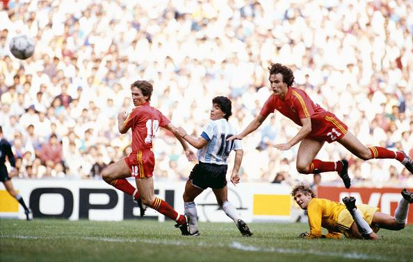 Belgium「Diego Maradona goal v Belguim 1986 World Cup」:写真・画像(1)[壁紙.com]