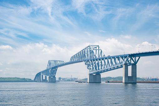 Koto Ward「Tokyo Gate Bridge」:スマホ壁紙(1)