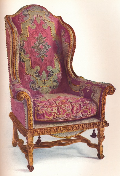 Chair「Upholstered Winged Arm Chair 1939」:写真・画像(16)[壁紙.com]