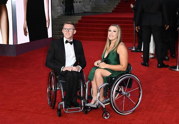 "Hannah Cockroft「""No Time To Die"" World Premiere - Red Carpet Arrivals」:写真・画像(5)[壁紙.com]"