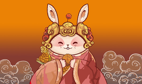Cartoon「Mid-Autumn Festival」:スマホ壁紙(3)