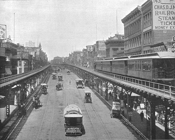 Railroad Track「The Bowery」:写真・画像(13)[壁紙.com]