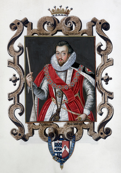 Stuart - Florida「Robert Cecil 1st Earl Of Salisbury English Statesman (1825)」:写真・画像(17)[壁紙.com]
