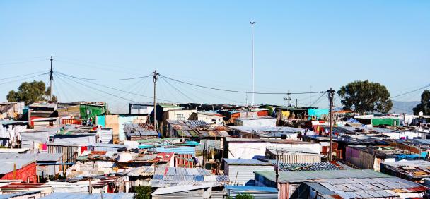 Squatter「Wide shot of squatter camp near Cape Town」:スマホ壁紙(6)