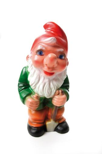 Garden Gnome「Garden gnome with spade, close-up」:スマホ壁紙(18)