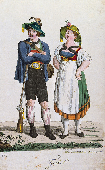 1820-1829「Tyrolean Costumes」:写真・画像(12)[壁紙.com]