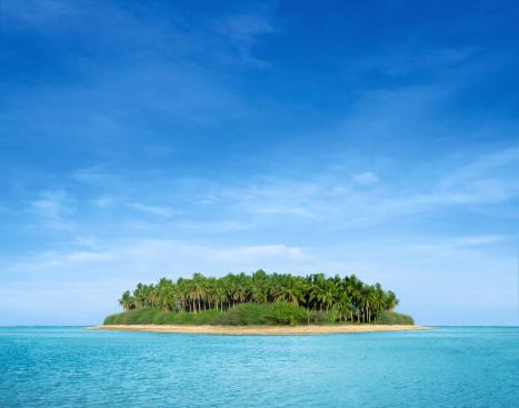 島「熱帯の島」:スマホ壁紙(12)