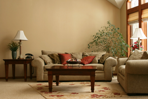 Brown「Cozy Living Room」:スマホ壁紙(12)