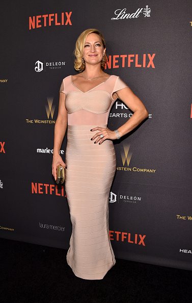 Cap Sleeve「The Weinstein Company And Netflix Golden Globe Party, Presented With DeLeon Tequila, Laura Mercier, Lindt Chocolate, Marie Claire And Hearts On Fire - Red Carpet」:写真・画像(6)[壁紙.com]