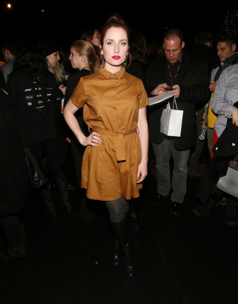 Hosiery「Charlotte Ronson - Presentation - Fall 2013 Mercedes-Benz Fashion Week」:写真・画像(3)[壁紙.com]