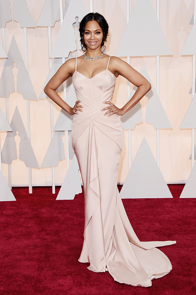 Pale Pink「87th Annual Academy Awards - Arrivals」:写真・画像(11)[壁紙.com]