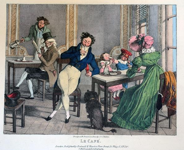Lithograph「Le Cafe」:写真・画像(13)[壁紙.com]