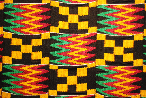 African Culture「African colored pattern fabric background」:スマホ壁紙(8)