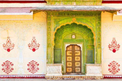 Rajasthan「Green Gate - Pitam Niwas Chowk , City Palace Jaipur」:スマホ壁紙(18)
