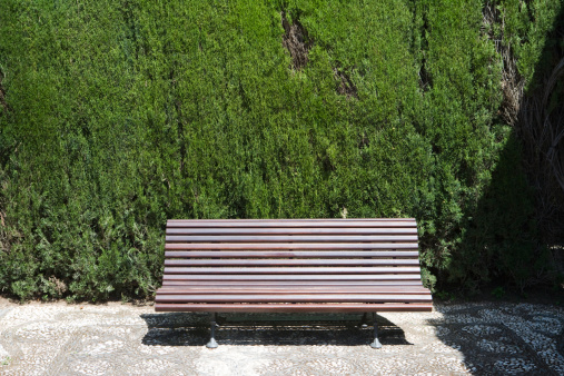 Bench「Bench in gardens of Alhambra.」:スマホ壁紙(13)