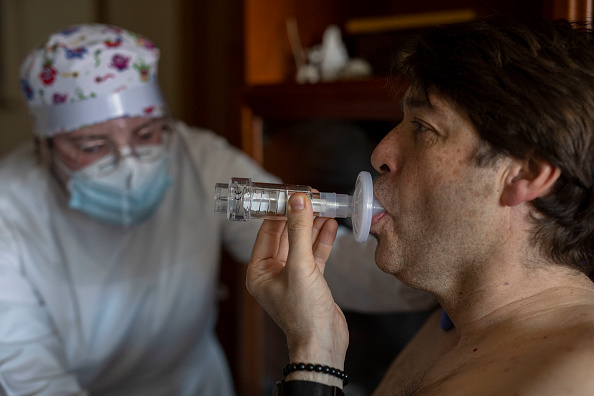 Madrid「Patients Receive Rehab To Treat Lingering Effects Of Covid-19」:写真・画像(7)[壁紙.com]