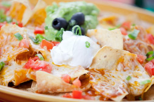 Sour Cream「Plate of tasty nachos」:スマホ壁紙(0)