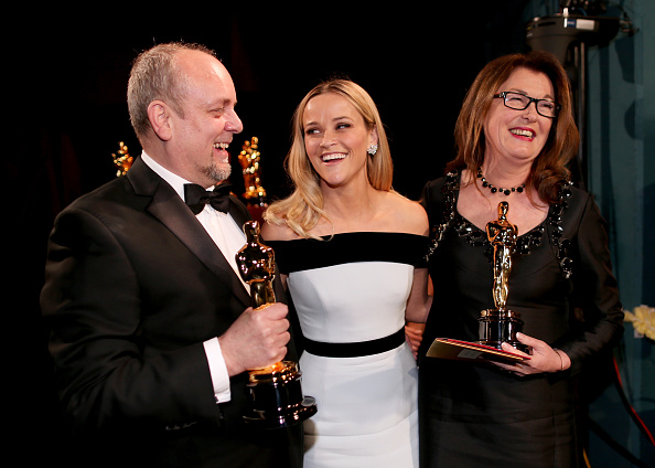 Best Makeup and Hairstyling「87th Annual Academy Awards - Backstage And Audience」:写真・画像(6)[壁紙.com]