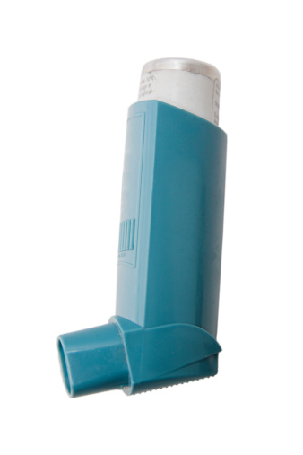 Asthma Inhaler「The classic blue asthma inhaler」:スマホ壁紙(1)