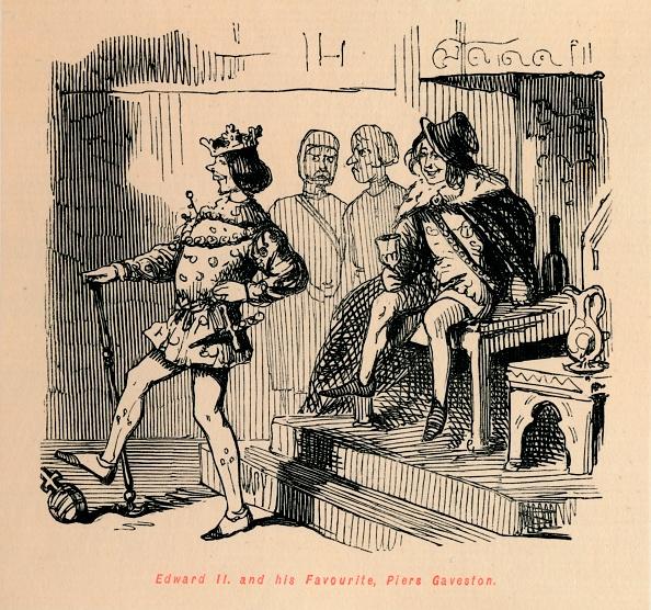 Pier「Edward Ii And His Favourite Piers Gaveston Circa 1860」:写真・画像(18)[壁紙.com]