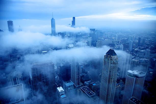Cold day in Chicago:スマホ壁紙(壁紙.com)