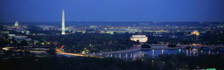 1990-1999「Potomac River and Washington, DC」:スマホ壁紙(7)