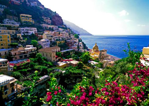 アマルフィ海岸「Positano, Amalfi Coast, Campania, Italy」:スマホ壁紙(7)