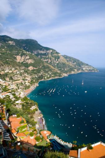 アマルフィ海岸「Positano, Amalfitan coast」:スマホ壁紙(11)