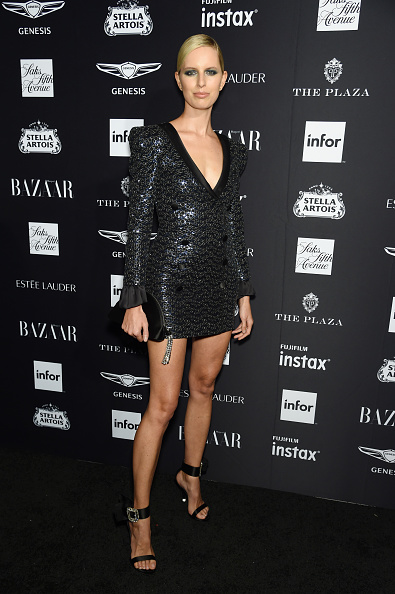 "Karolina Kurkova「Harper's BAZAAR Celebrates ""ICONS By Carine Roitfeld"" At The Plaza Hotel Presented By Infor, Estee Lauder, Saks Fifth Avenue, Fujifilm Instax, Genesis, And Stella Artois - Arrivals」:写真・画像(8)[壁紙.com]"