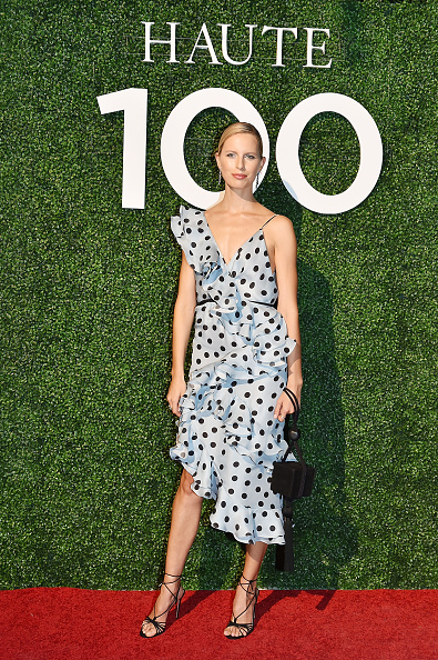 Karolina Kurkova「Haute Living's Haute 100 10th Anniversary Party At Swan Miami」:写真・画像(14)[壁紙.com]