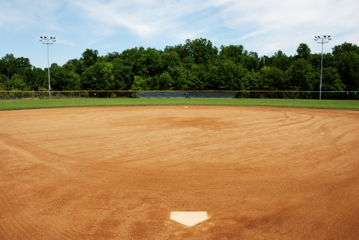Sports League「Baseball or softball field」:スマホ壁紙(14)
