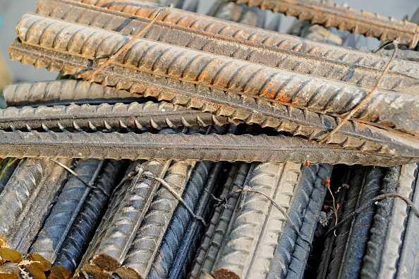 Rod「Reinforcing bars on sale at a construction products market, eastern Beijing, China」:写真・画像(19)[壁紙.com]