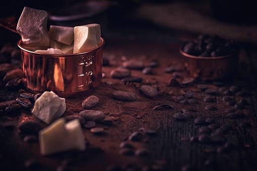 スイーツ「自家製の良い品質チョコレート バーを準備します。」:スマホ壁紙(19)