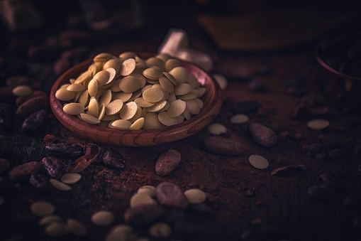 スイーツ「自家製の良い品質チョコレート バーを準備します。」:スマホ壁紙(16)