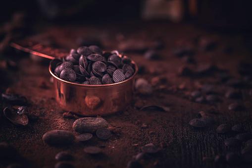 スイーツ「自家製の良い品質チョコレート バーを準備します。」:スマホ壁紙(17)