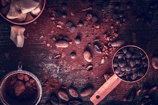 植物「自家製の良い品質チョコレート バーを準備します。」:スマホ壁紙(9)