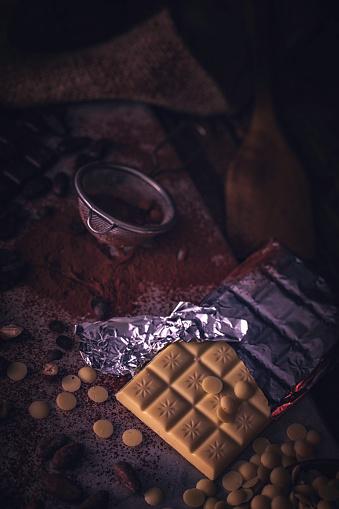 植物「自家製の良い品質チョコレート バーを準備します。」:スマホ壁紙(12)