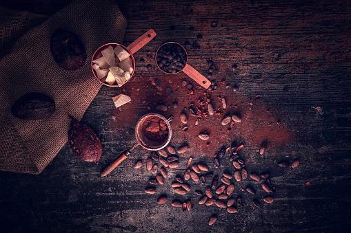 植物「自家製の良い品質チョコレート バーを準備します。」:スマホ壁紙(10)