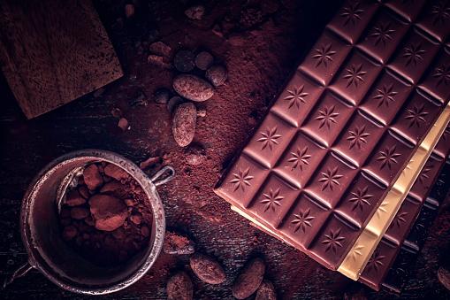 植物「自家製の良い品質チョコレート バーを準備します。」:スマホ壁紙(15)