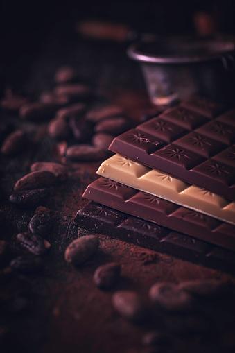 植物「自家製の良い品質チョコレート バーを準備します。」:スマホ壁紙(16)