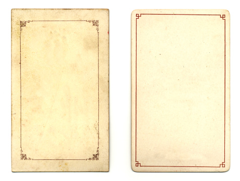 19th Century「Two old cards」:スマホ壁紙(11)