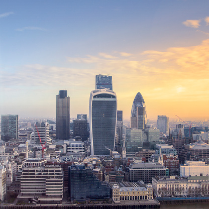 122 Leadenhall Street「Sunrise over the City of London, UK」:スマホ壁紙(11)
