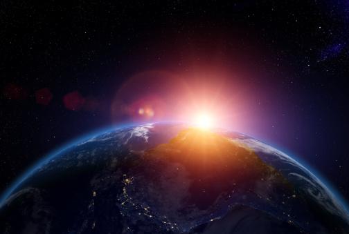 探求「Sunrise over South America from space」:スマホ壁紙(13)